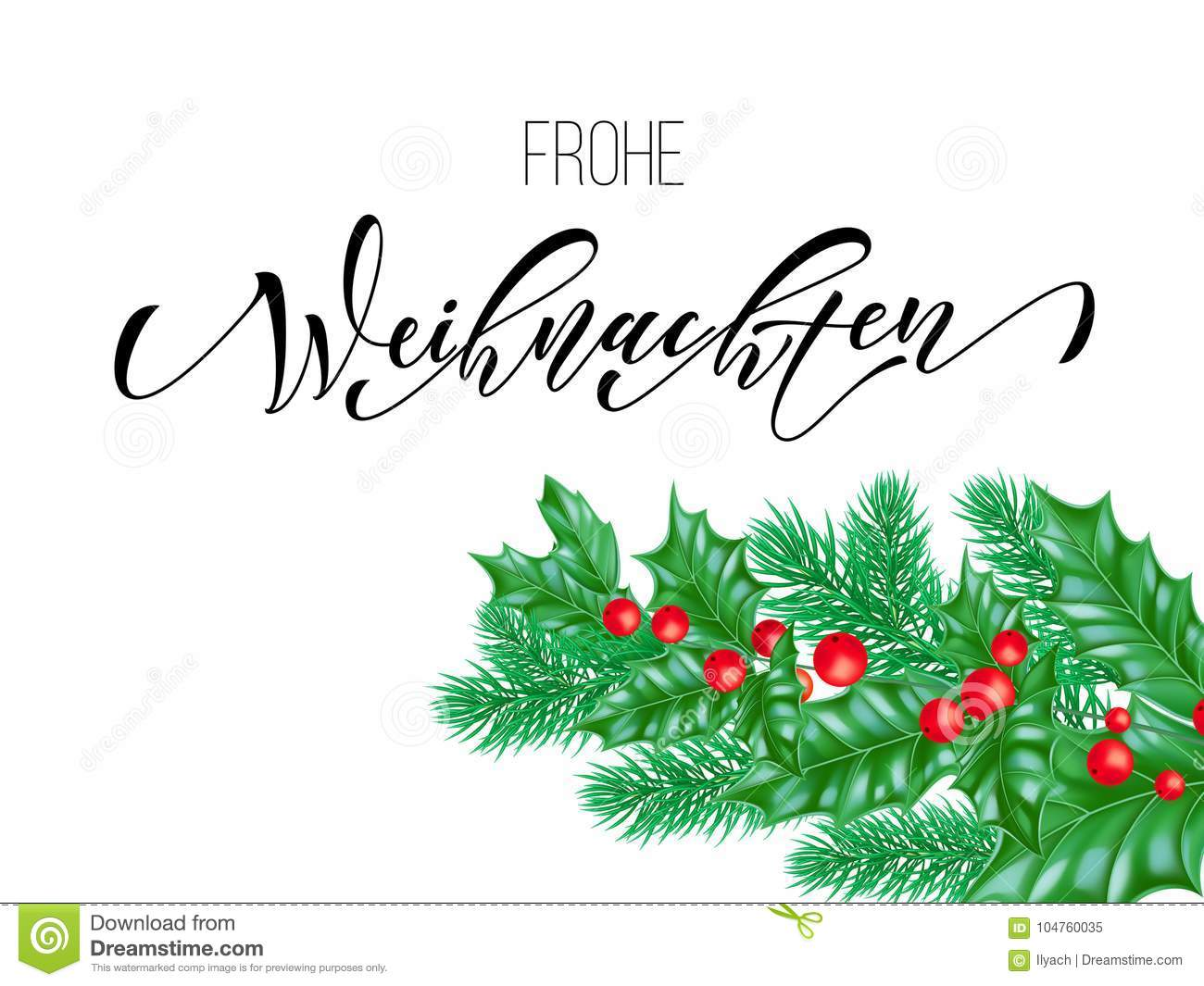 frohe weihnachten german merry christmas calligraphy font. Black Bedroom Furniture Sets. Home Design Ideas