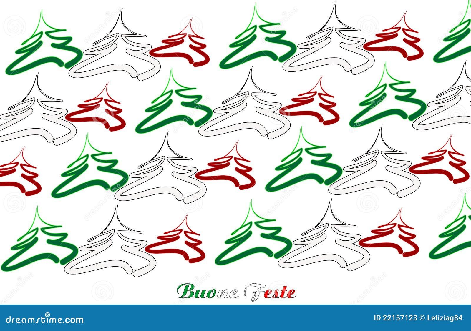 Weihnachten In Italien frohe weihnachten italien vektor abbildung. illustration von