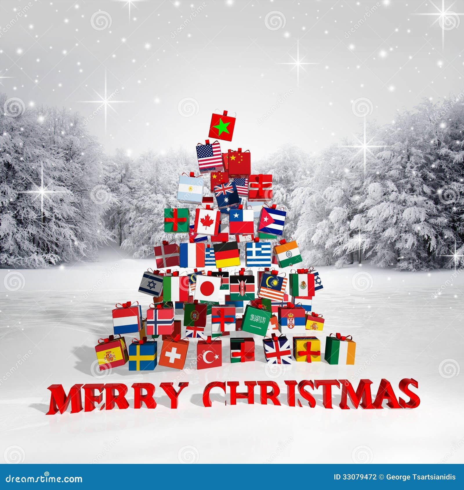 frohe weihnachten jeder stockfotografie bild 33079472. Black Bedroom Furniture Sets. Home Design Ideas