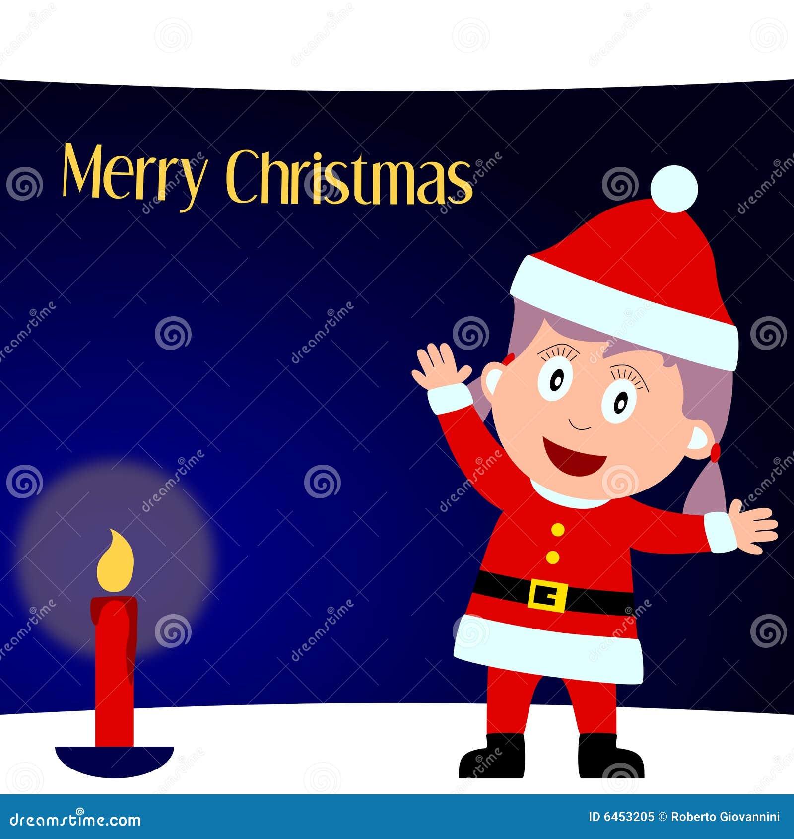 Frohe Weihnachten [Mädchen 1]
