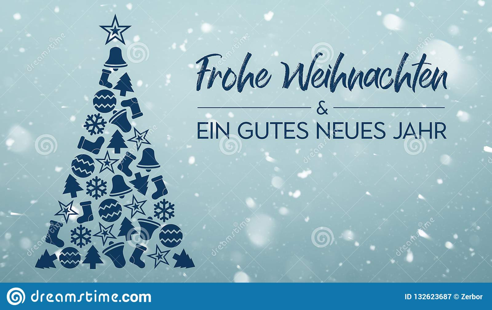 Bilder Frohe Weihnachten Merry Christmas.Frohe Weihnachten Und Ein Gutes Neues Jahr Merry Christmas And