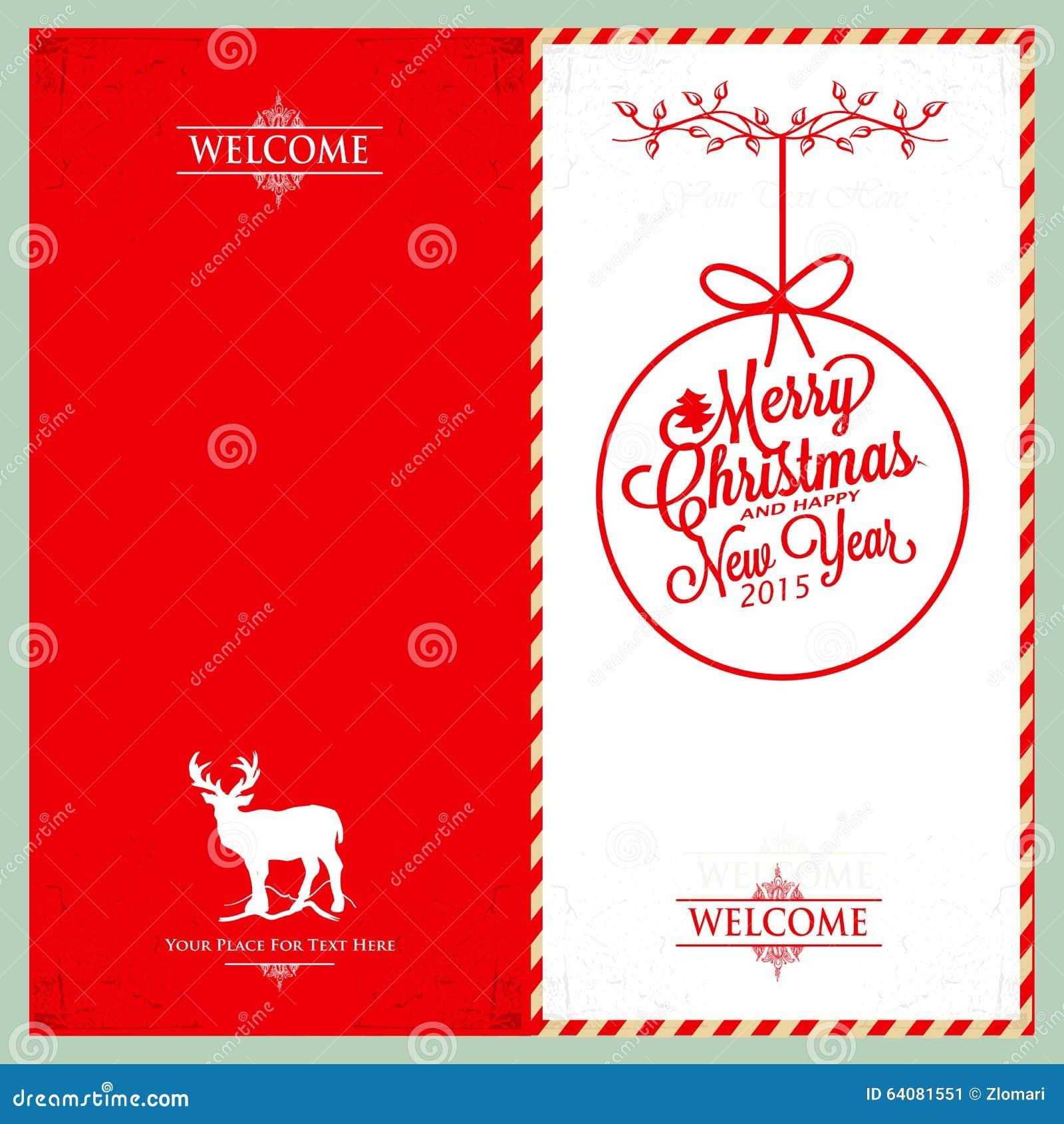 frohe weihnachten und guten rutsch ins neue jahr einladung. Black Bedroom Furniture Sets. Home Design Ideas