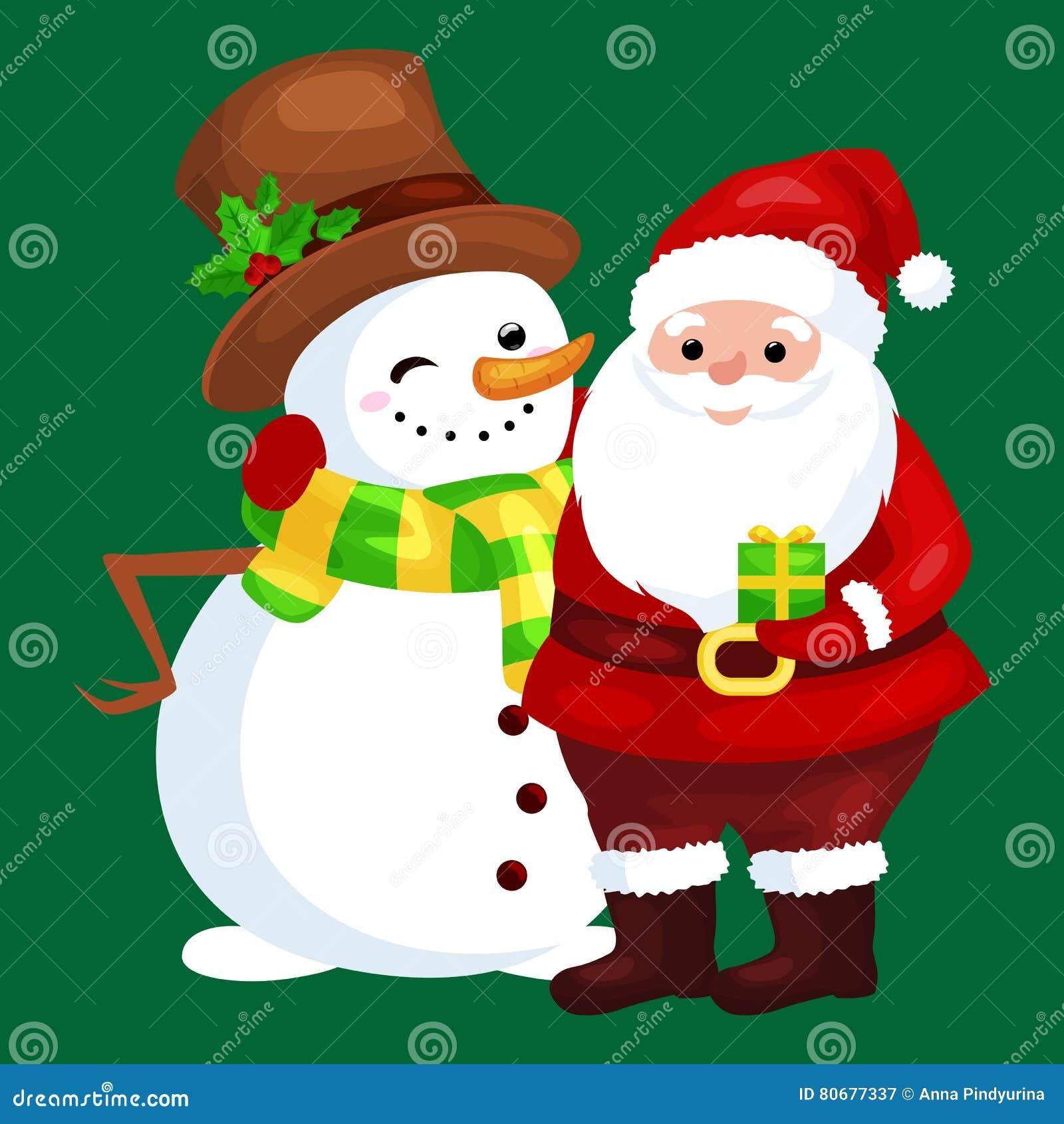 Frohe Weihnachten An Freunde.Frohe Weihnachten Und Guten Rutsch Ins Neue Jahr Freunde Santa