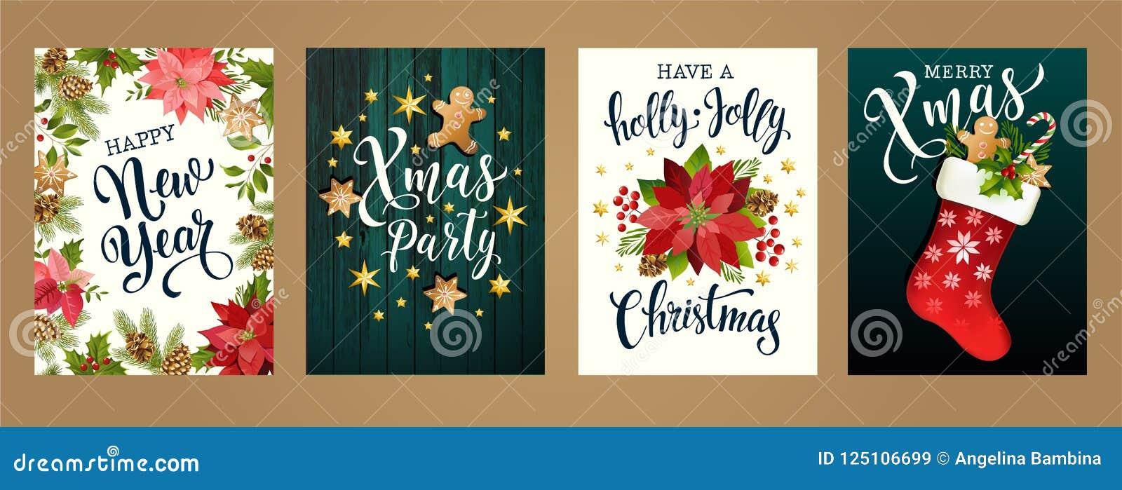 Frohe Weihnachten und guten Rutsch ins Neue Jahr 2019 weiße und schwarze Farben Entwerfen Sie für Plakat, Karte, Einladung, Karte
