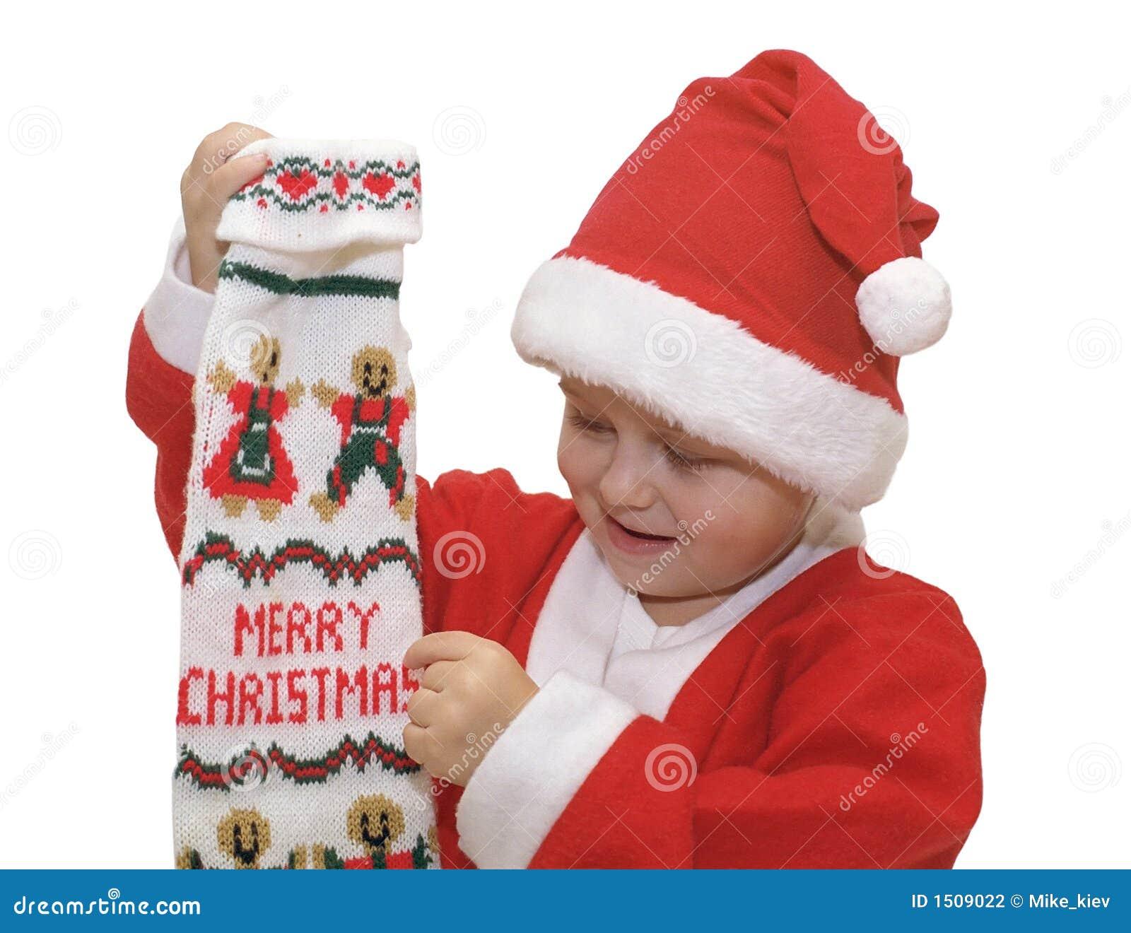 Frohe Weihnachten von kleiner Sankt