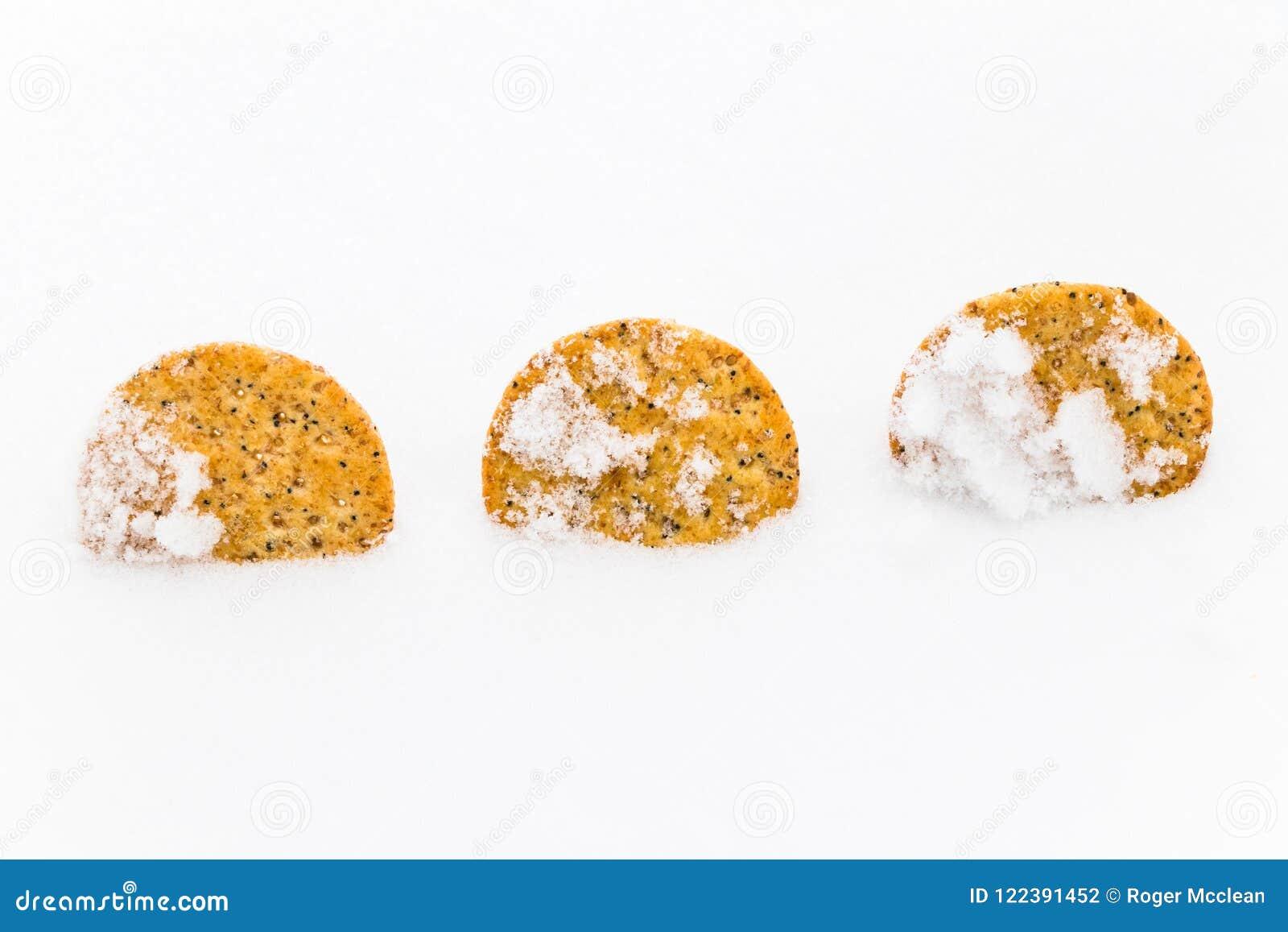 Froid de biscuits en hiver