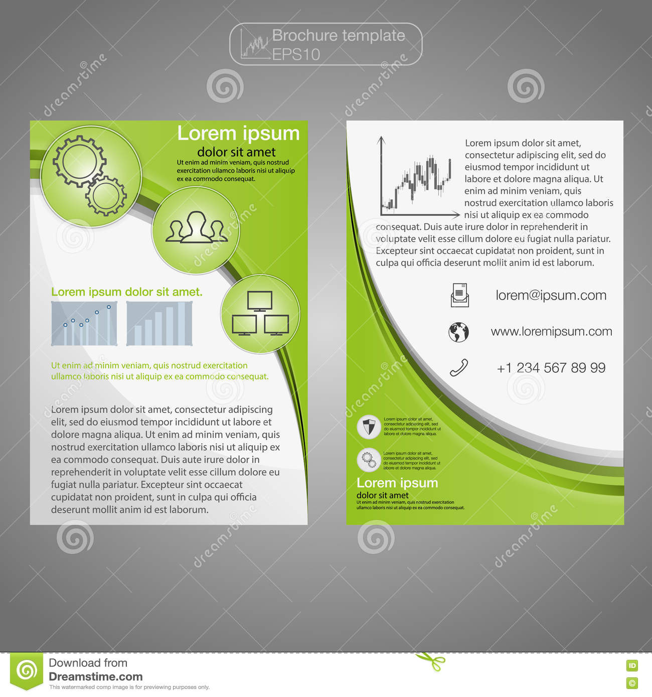 1 page flyer template