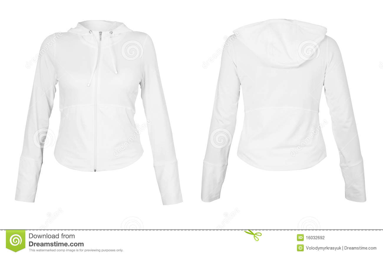 Front and back white t-shirt isolated on white background.With ...