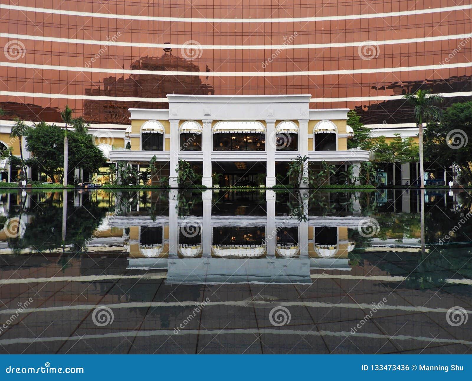 Front Door de Wynn Casino em Macau China