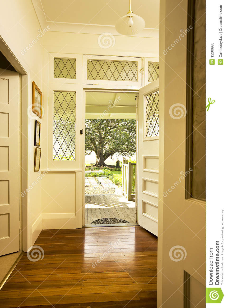 Front door entrance interior stock photos image 12209983 Front entrance ideas interior