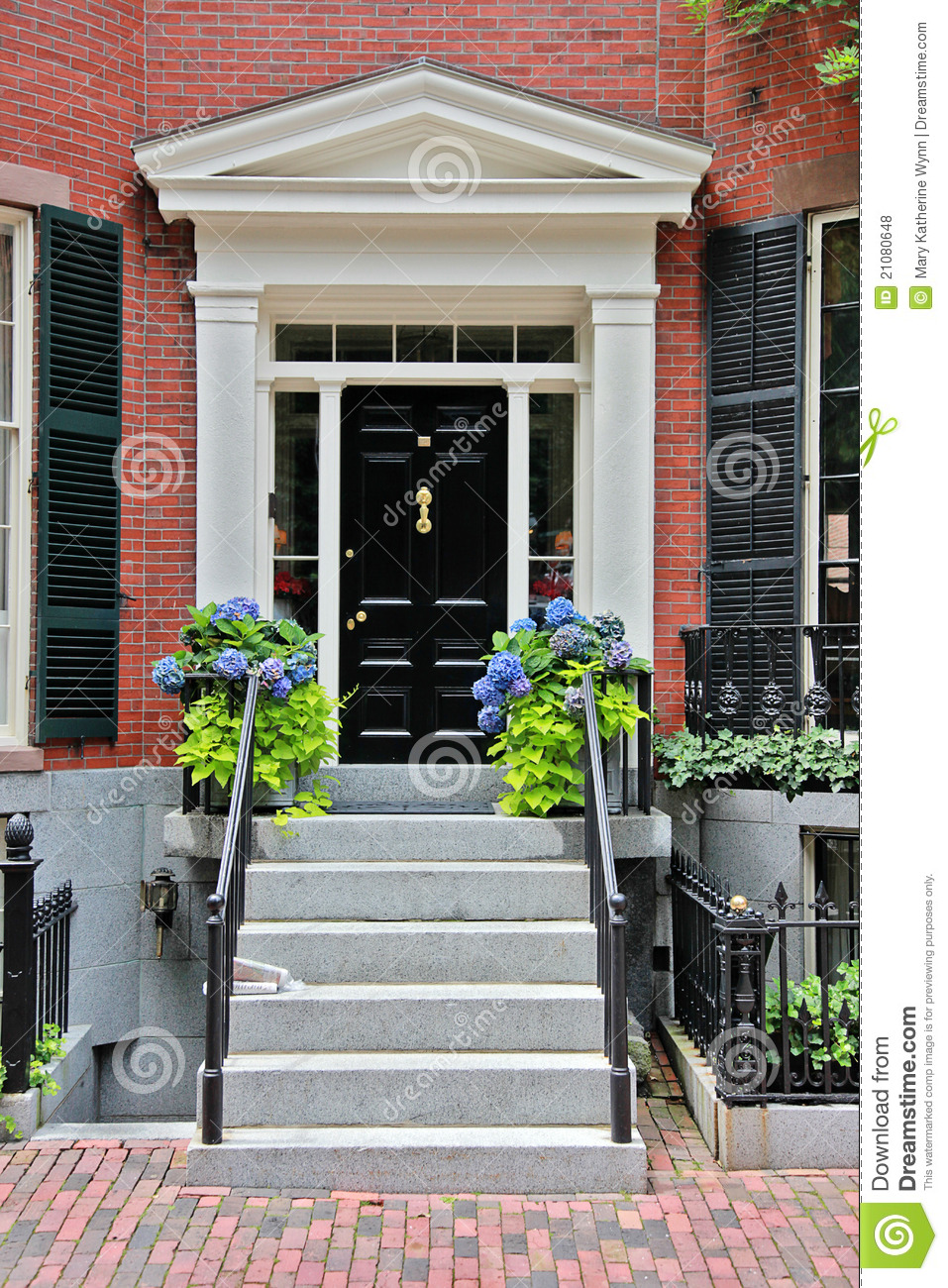 Front Door Entryway Royalty Free Stock Photos Image