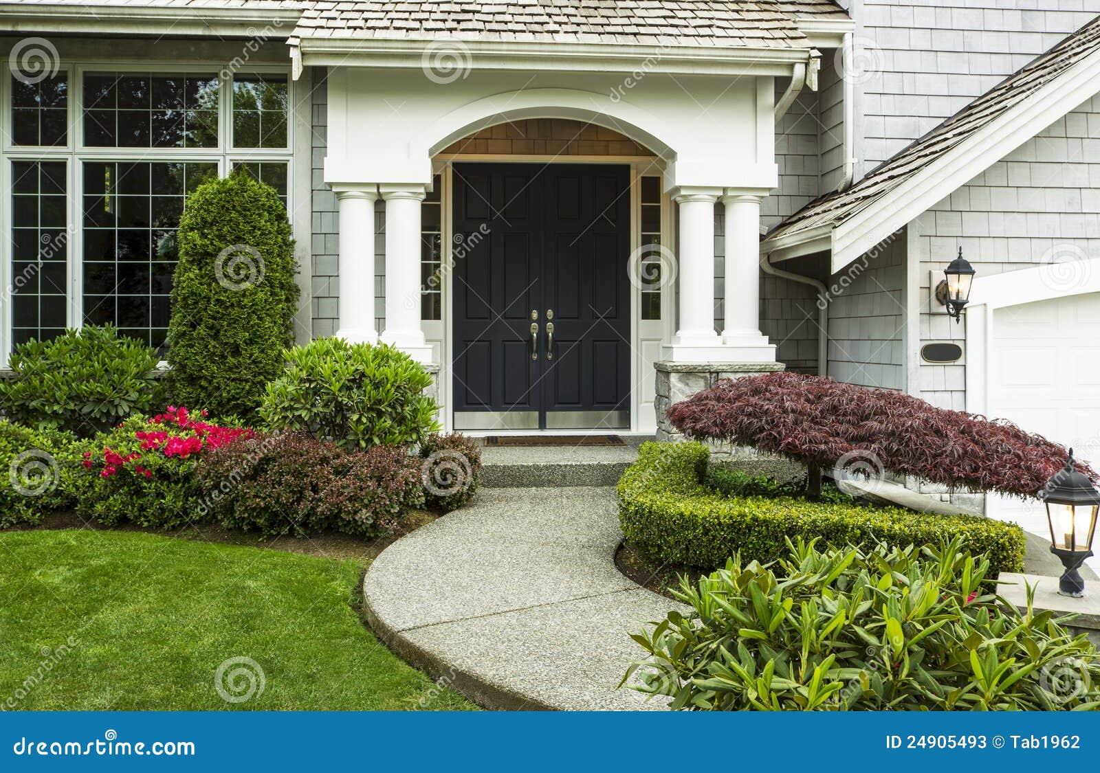 Front Door to Home