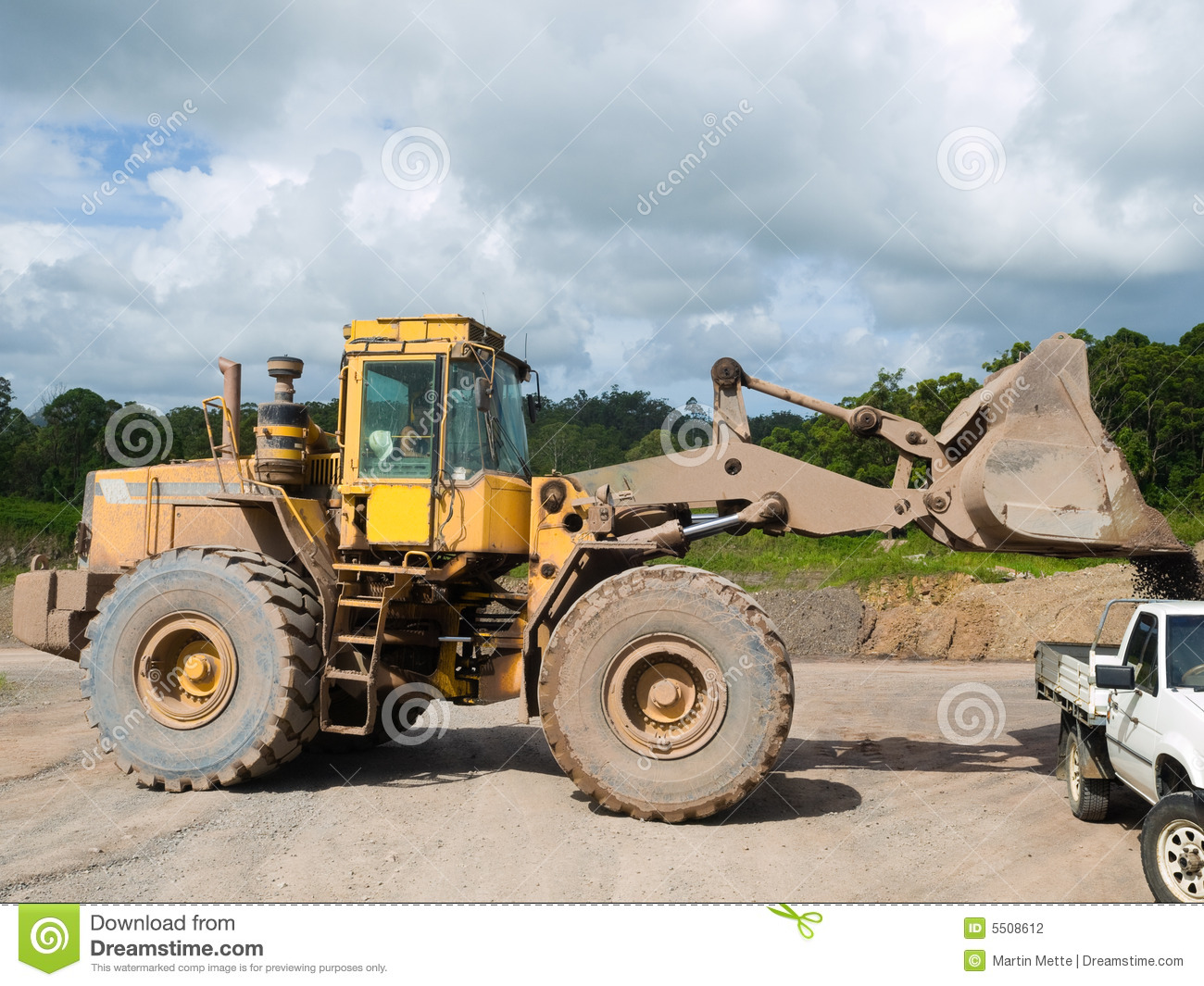 Front End Loader Stock Photography Image 5508612
