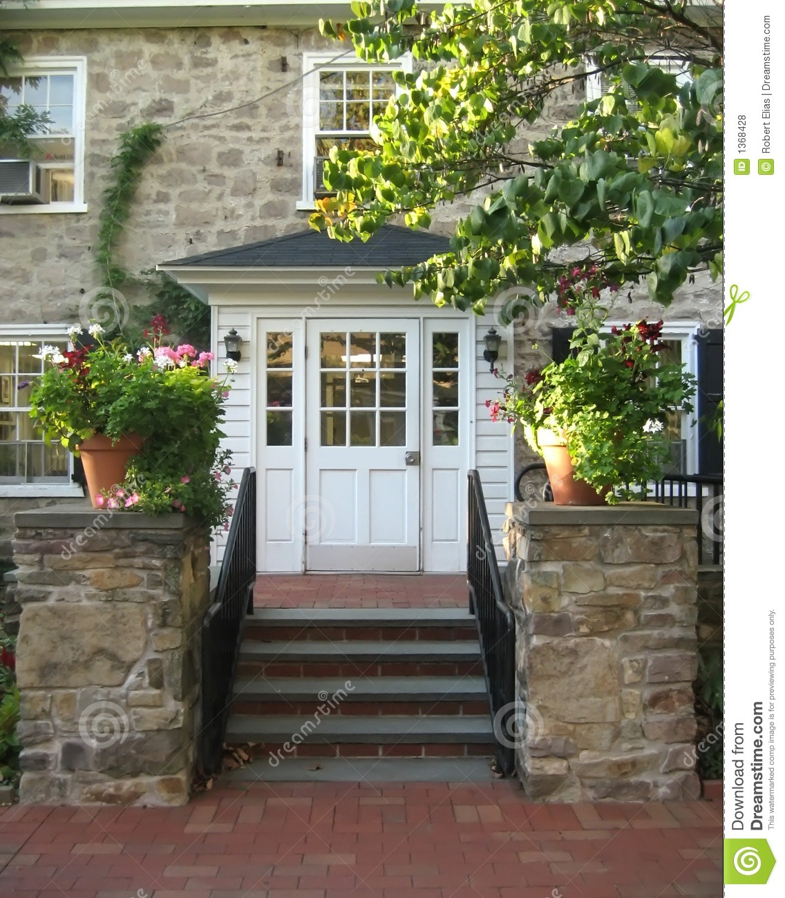 Front Entrance Endearing Front Entrance Royalty Free Stock Photos  Image 1368428 Design Ideas