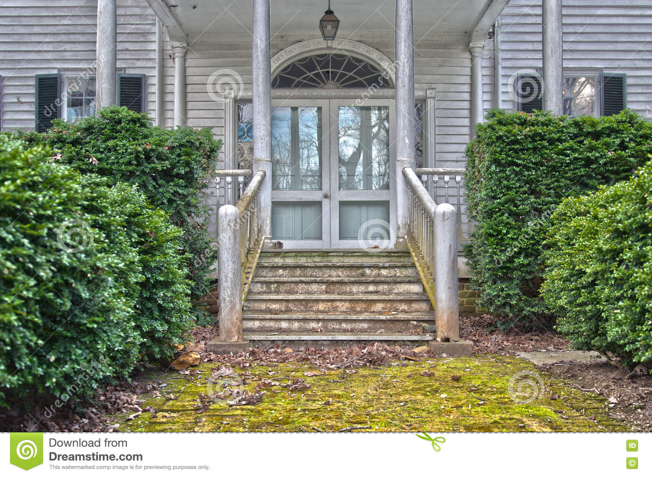 Front Entrance Decay