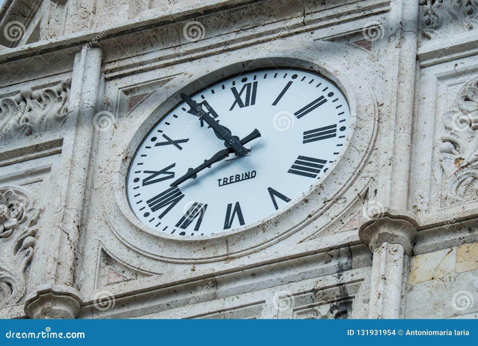 Front Facade Of Palazzo Civico, Cagliari, Sardinia, Italy ...