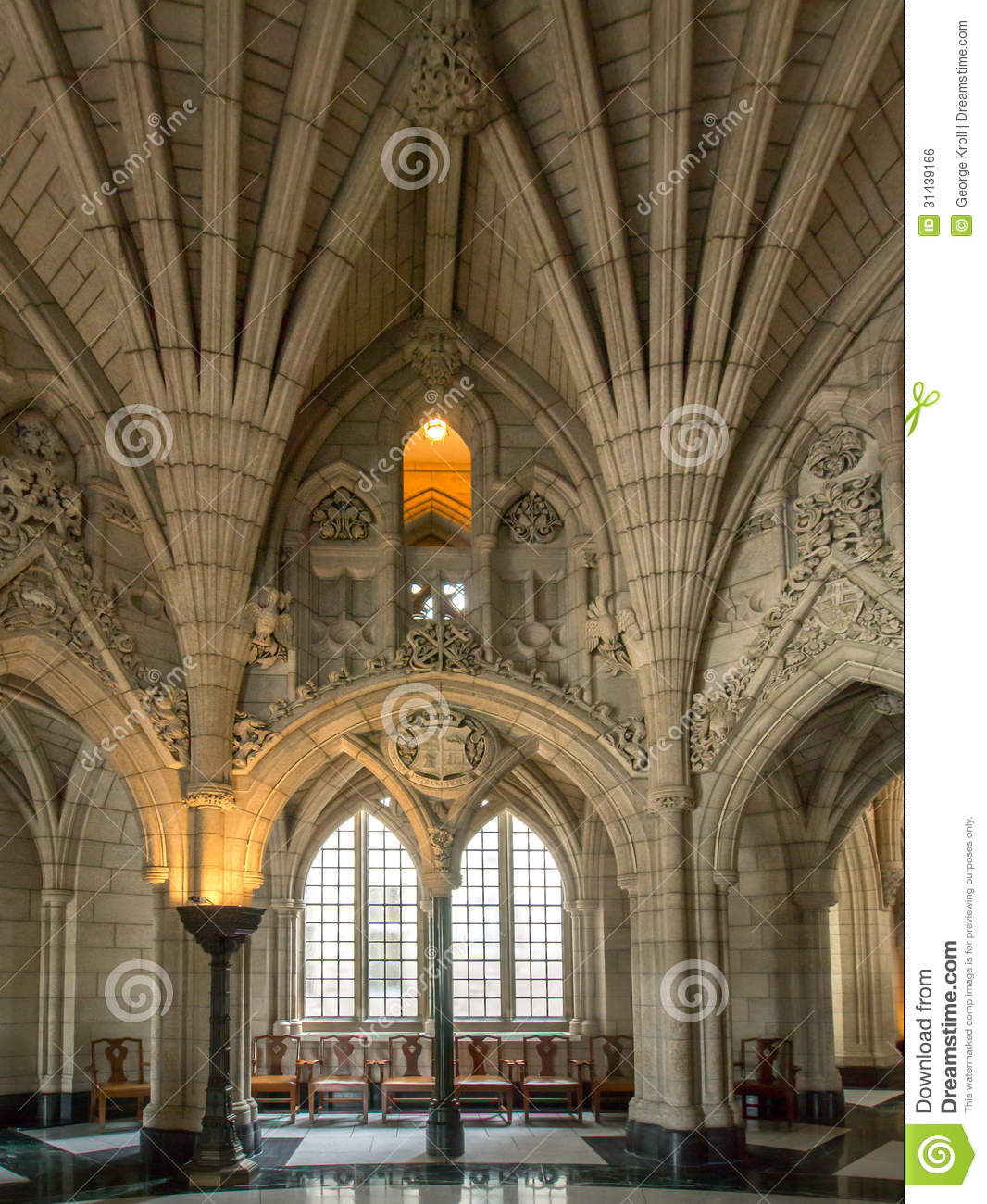 Foyer Grand Saconnex : Front foyer of parliament building royalty free stock