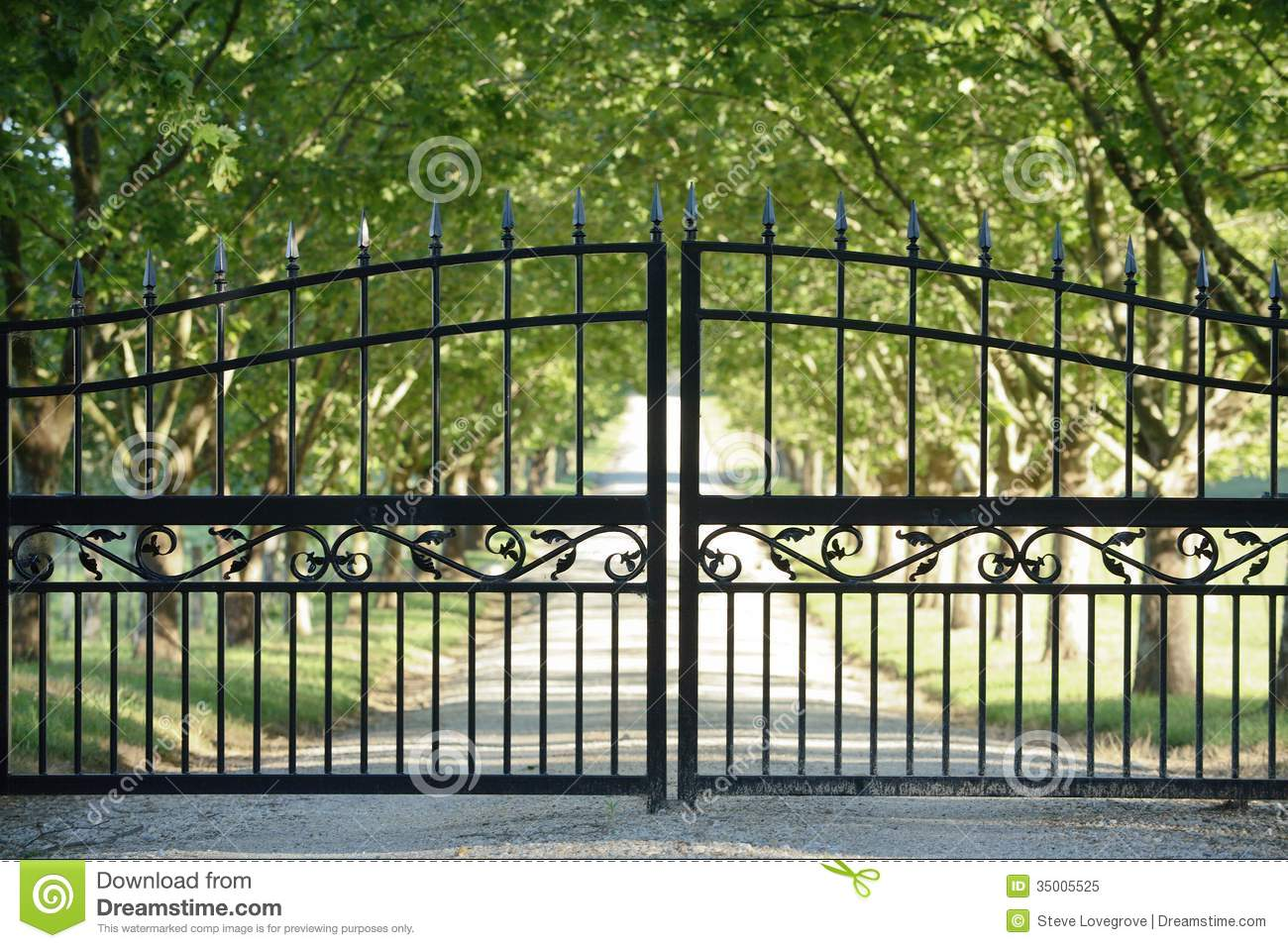 Front Gate Royalty Free Stock Photo Image 35005525