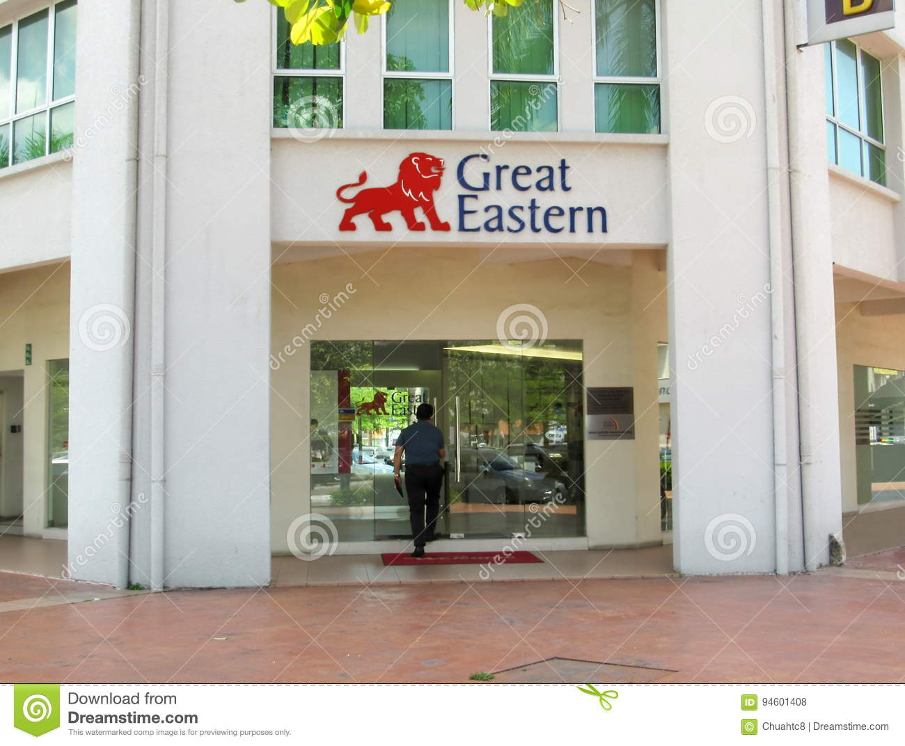 Front Of Great Eastern Life Assurance Office Ipoh Branch Editorial