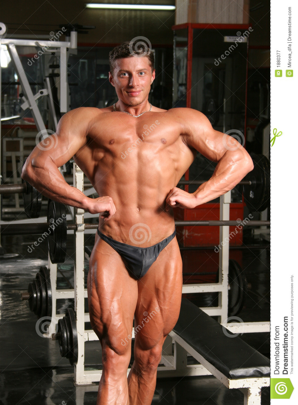 Front Lat Spread Royalty Free Stock Photography - Image