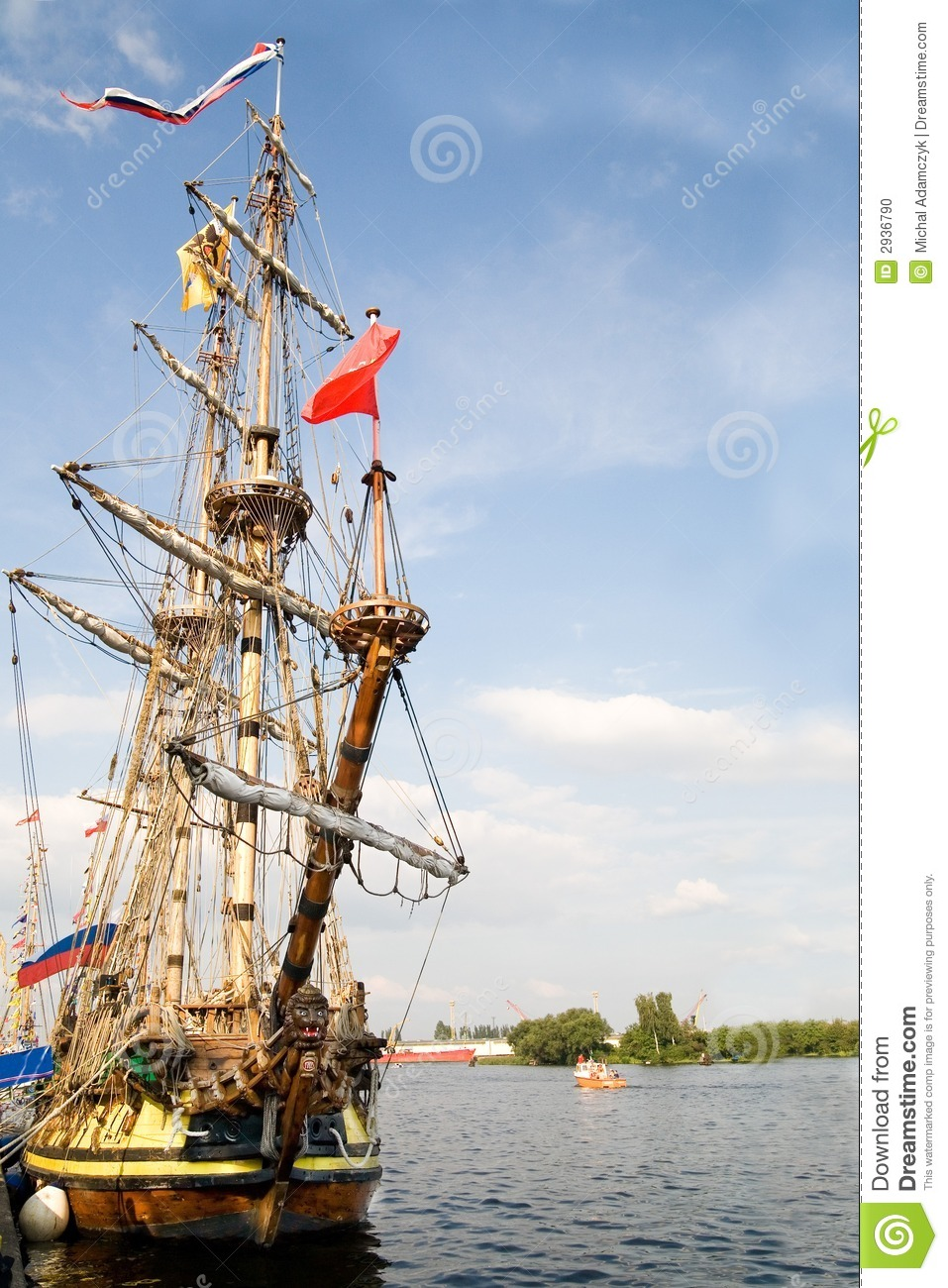 front of old sailing ship stock photo image of historic 2936790