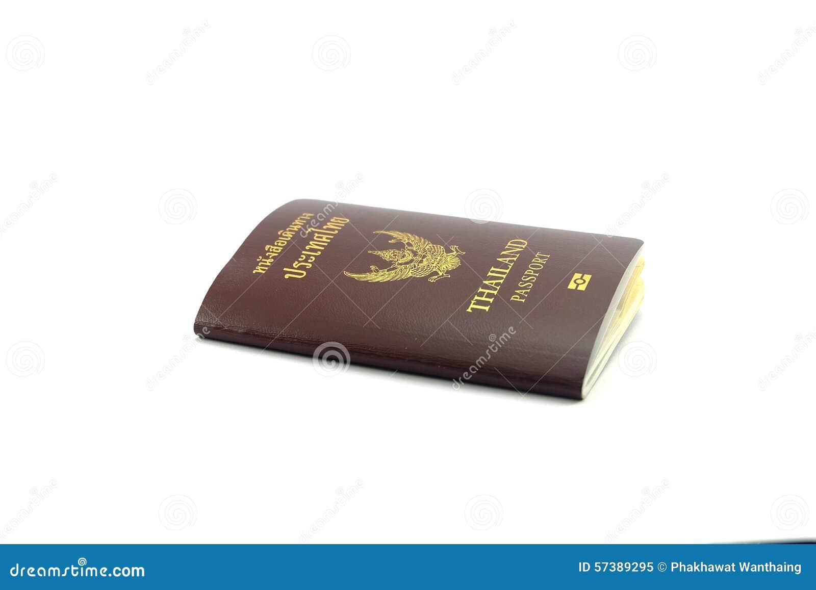 Front Passport White Background