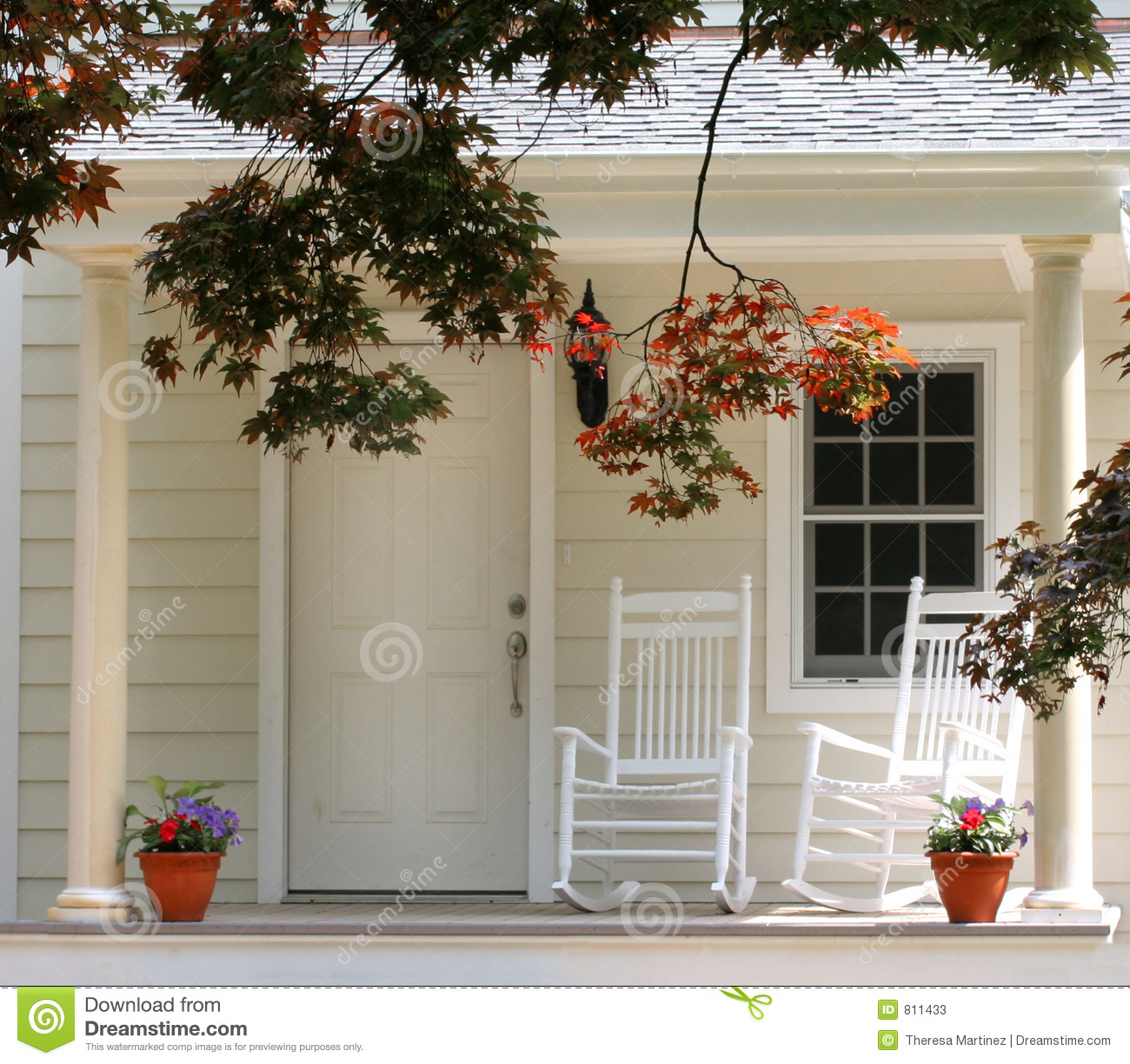 Front Porch Clipart front porch of traditional home royalty free stock images - image