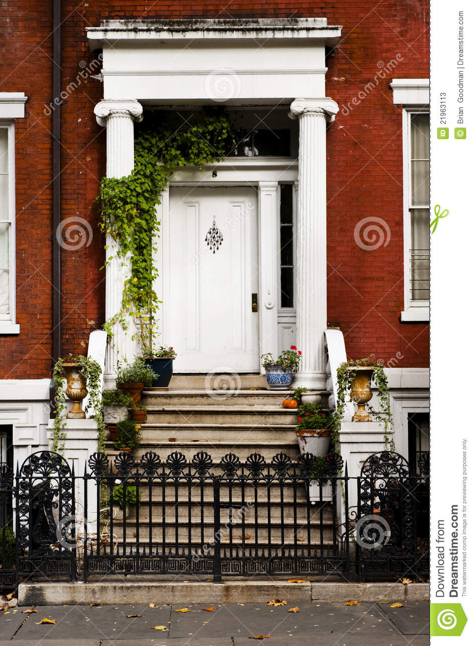 Front Porch In New York City Stock Photos Image 21963113