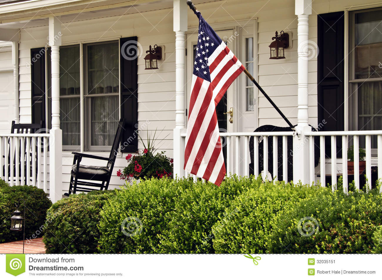 Front Porch Clipart front porch stock image - image: 32035151