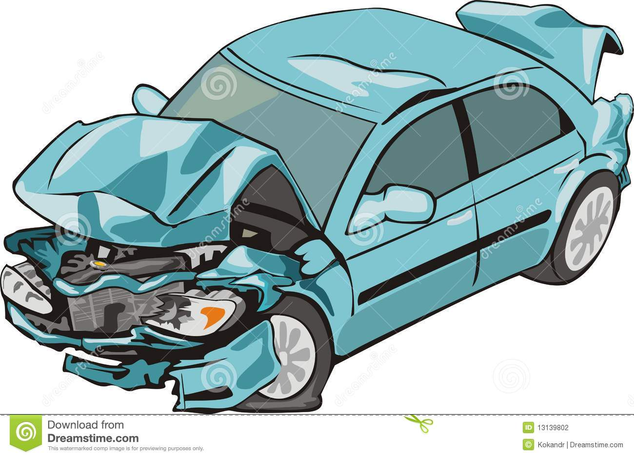 Excellent Collision Drawing Cartoon Images - Electrical and Wiring ...
