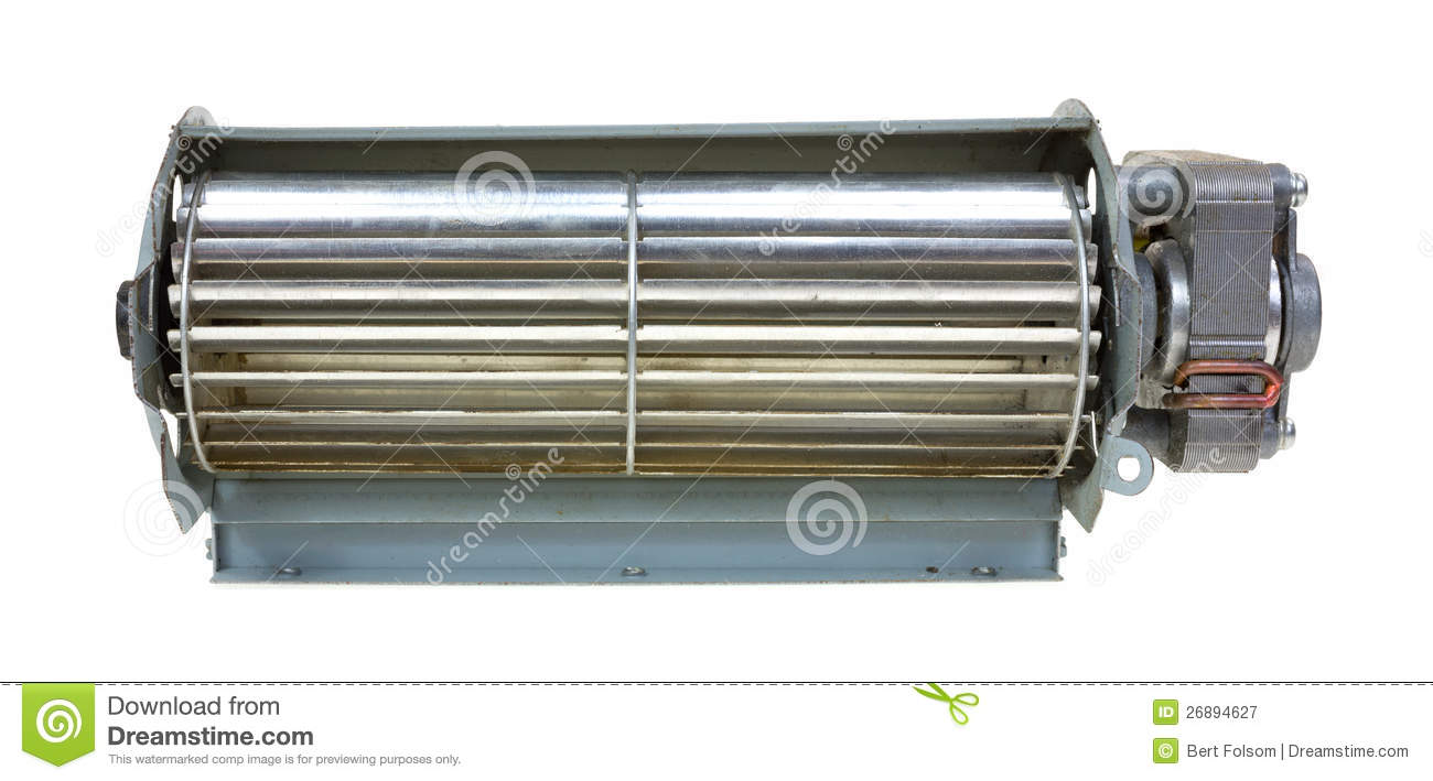 Front Of Small Air Blower Royalty Free Stock Photography