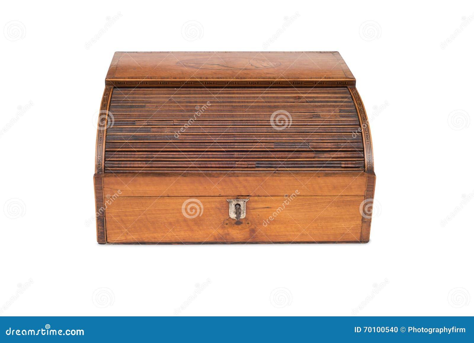 Front View De Un Caj N De Madera De La Caja Registradora Del  # Muebles Caja Registradora