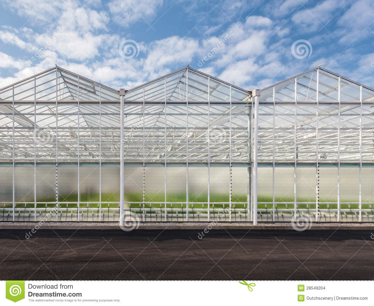 Front view of a new greenhouse stock images image 28549204 - The greenhouse residence in rotterdam ...