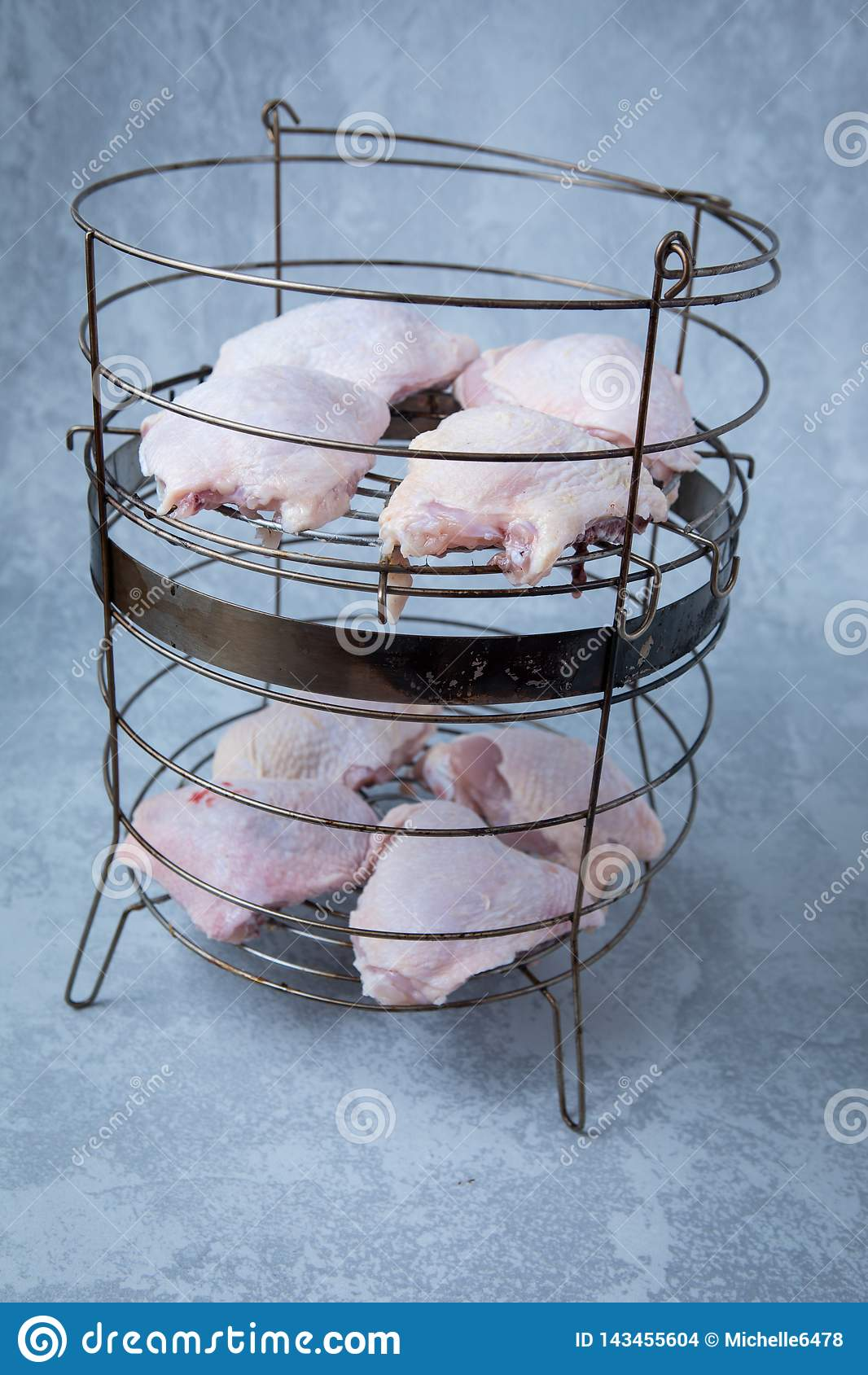 Chicken Smoker Basket
