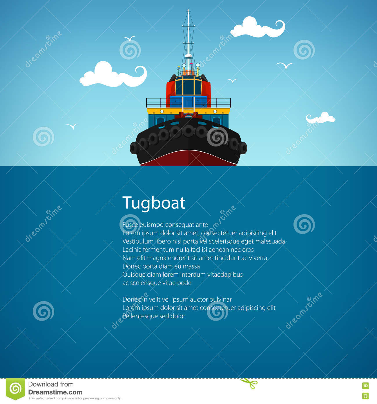 towboat cartoons  illustrations   vector stock images 40 pictures to download from tugboat clip art image Tugboat SVG