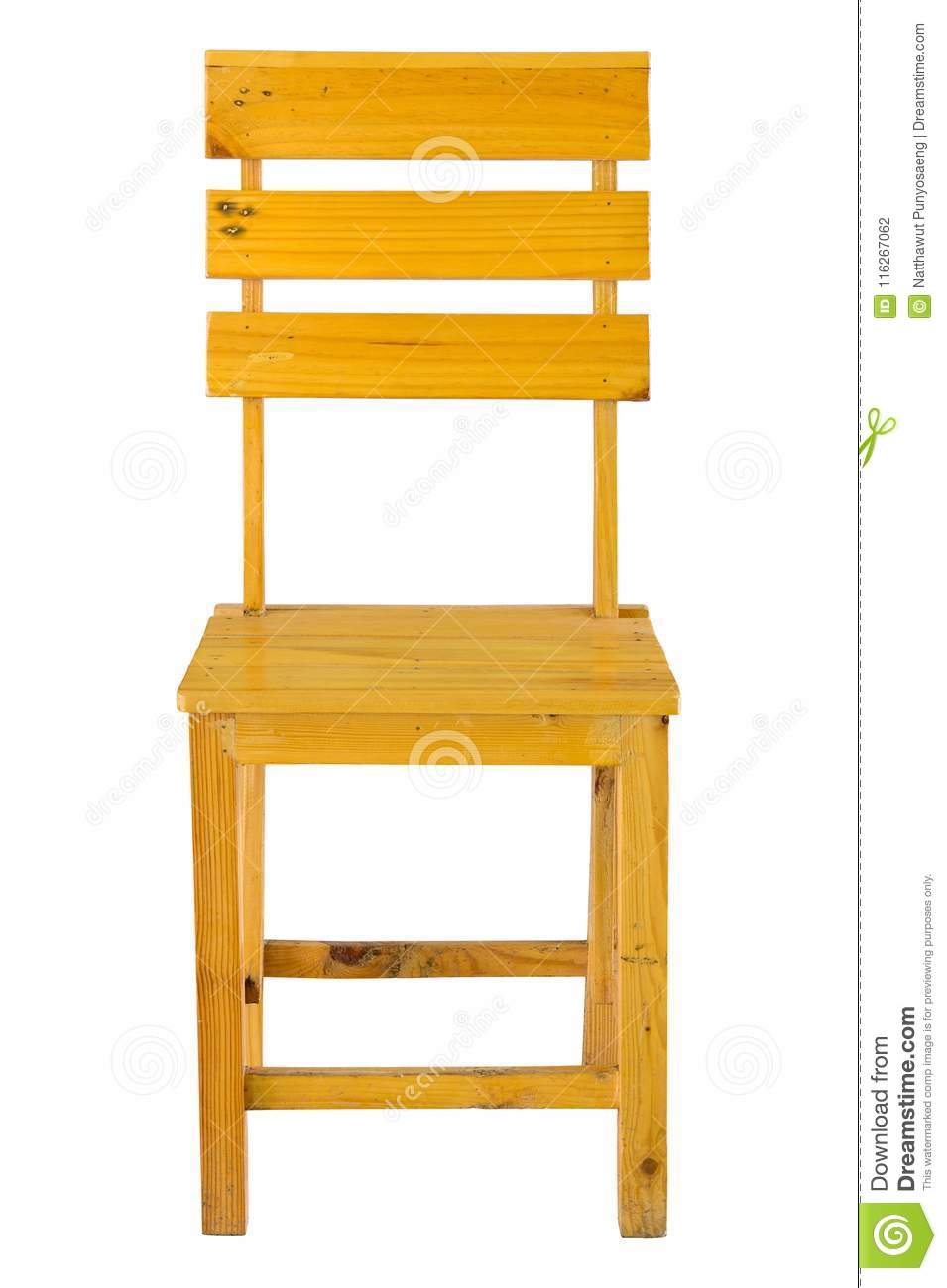 Wooden Chair Front Side View Stock Images - 210 Photos