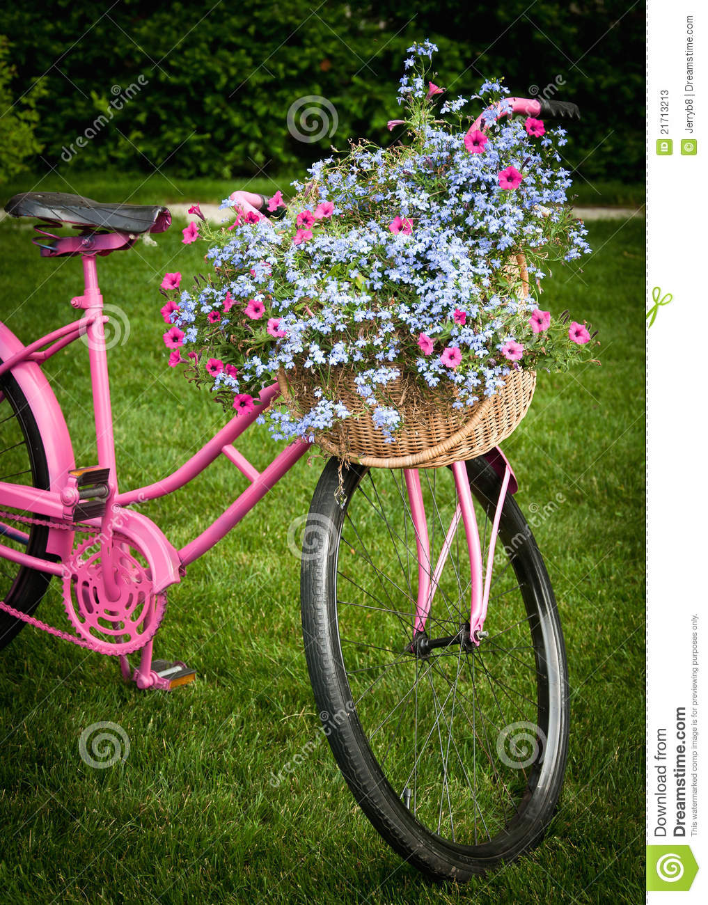 Front yard decor stock image image of outdoors pink for Front yard decor