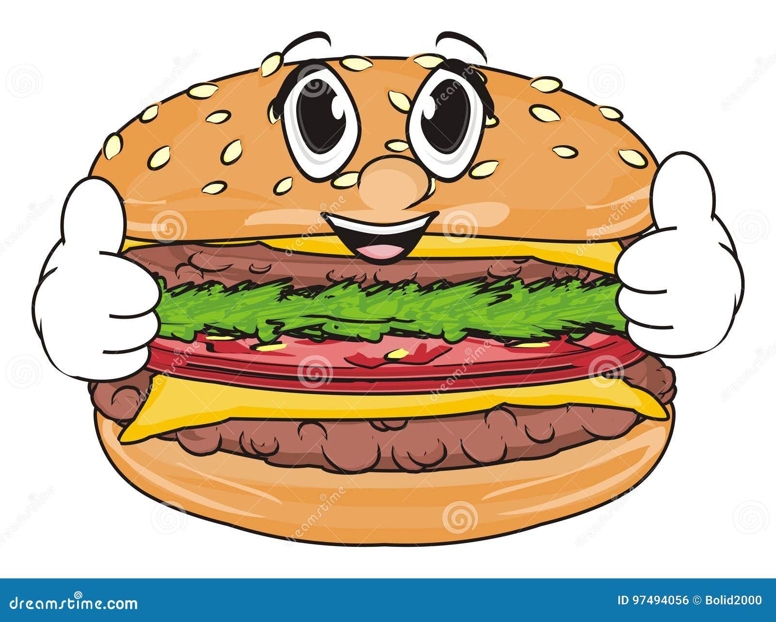Fronte dell hamburger