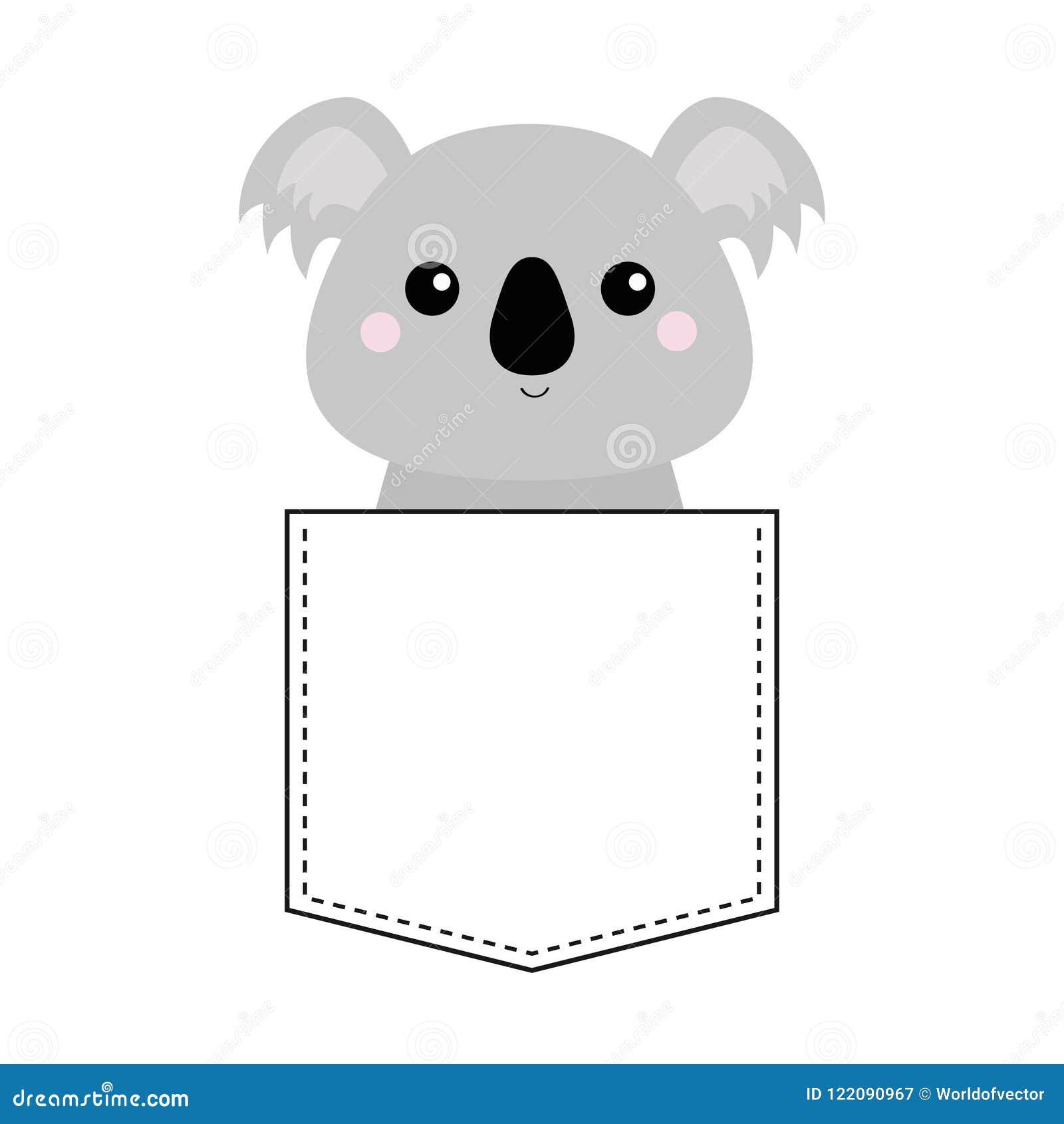 Colore dell arcobaleno carina cartone animato e carino koala