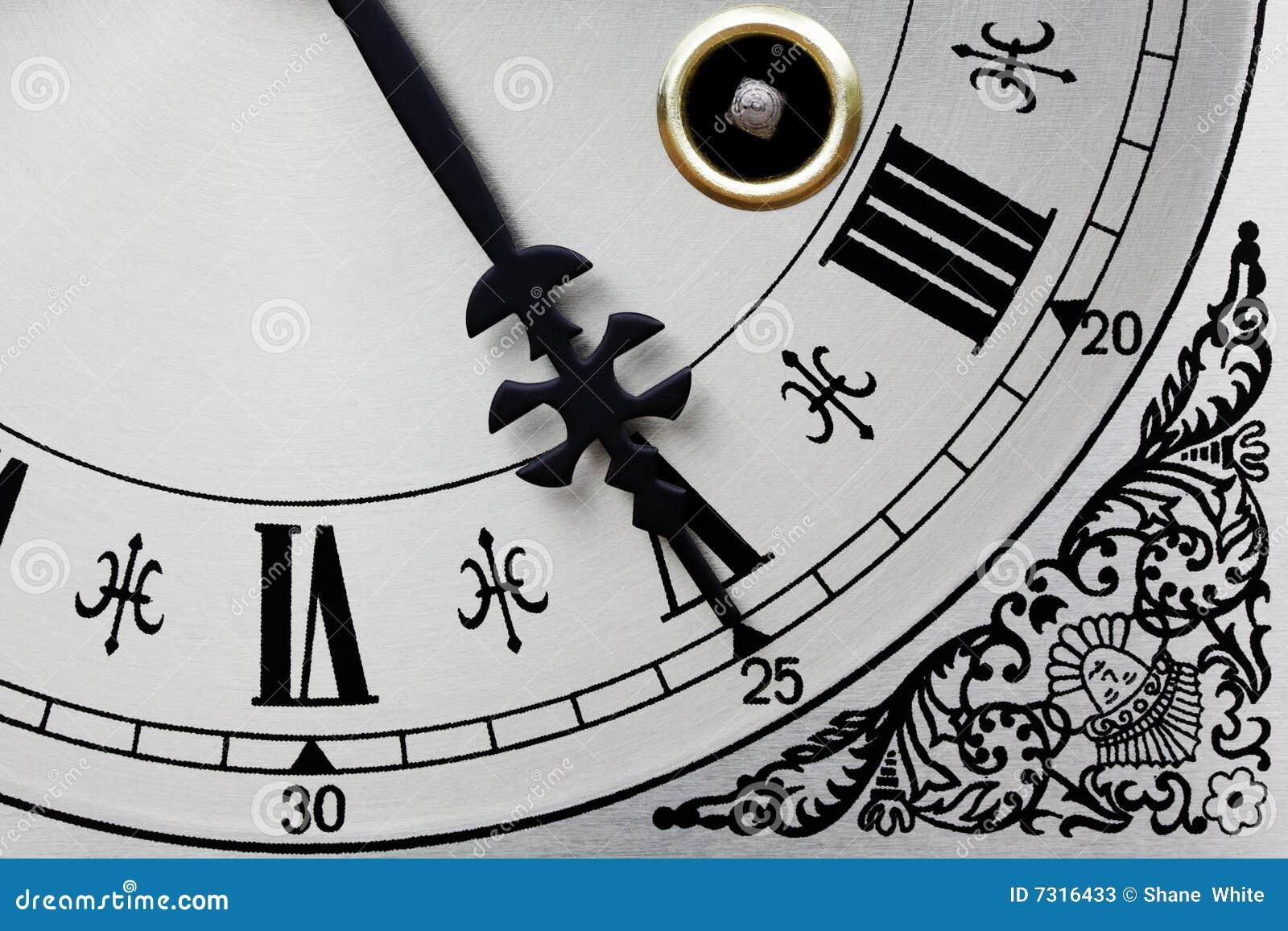 Fronte di orologio.