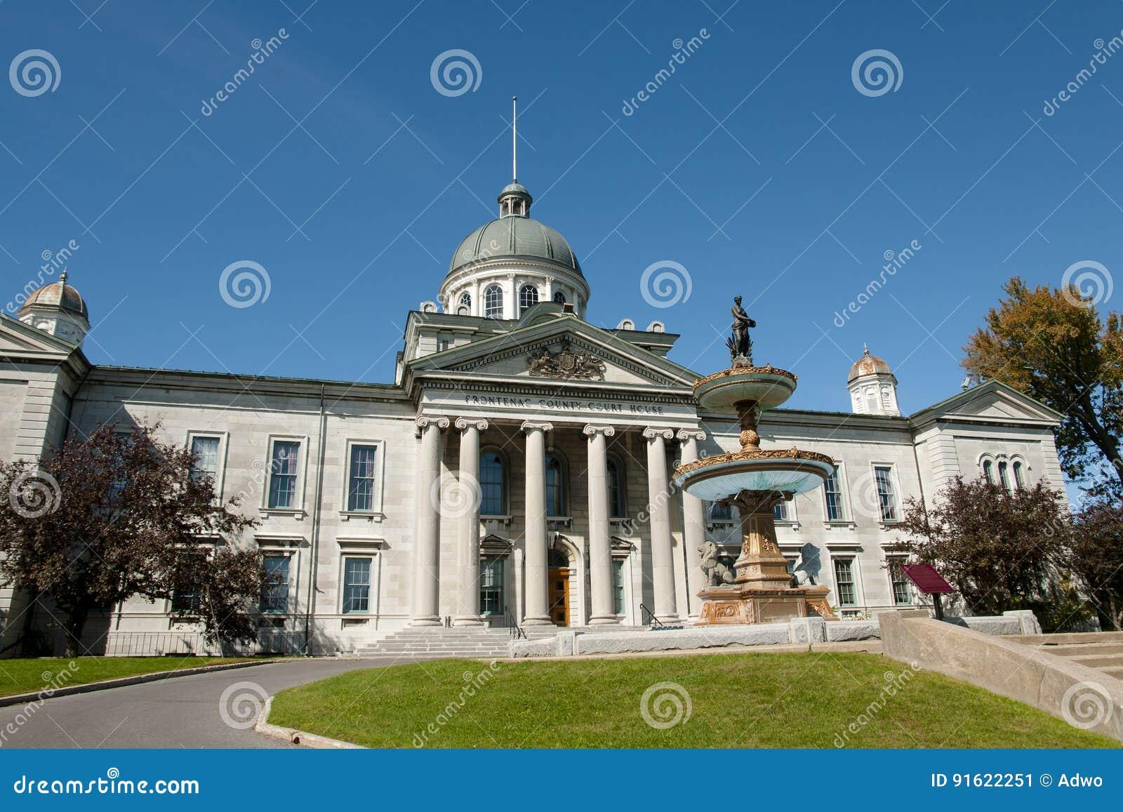Frontenac-Amtsgericht haus- Kingston - Kanada