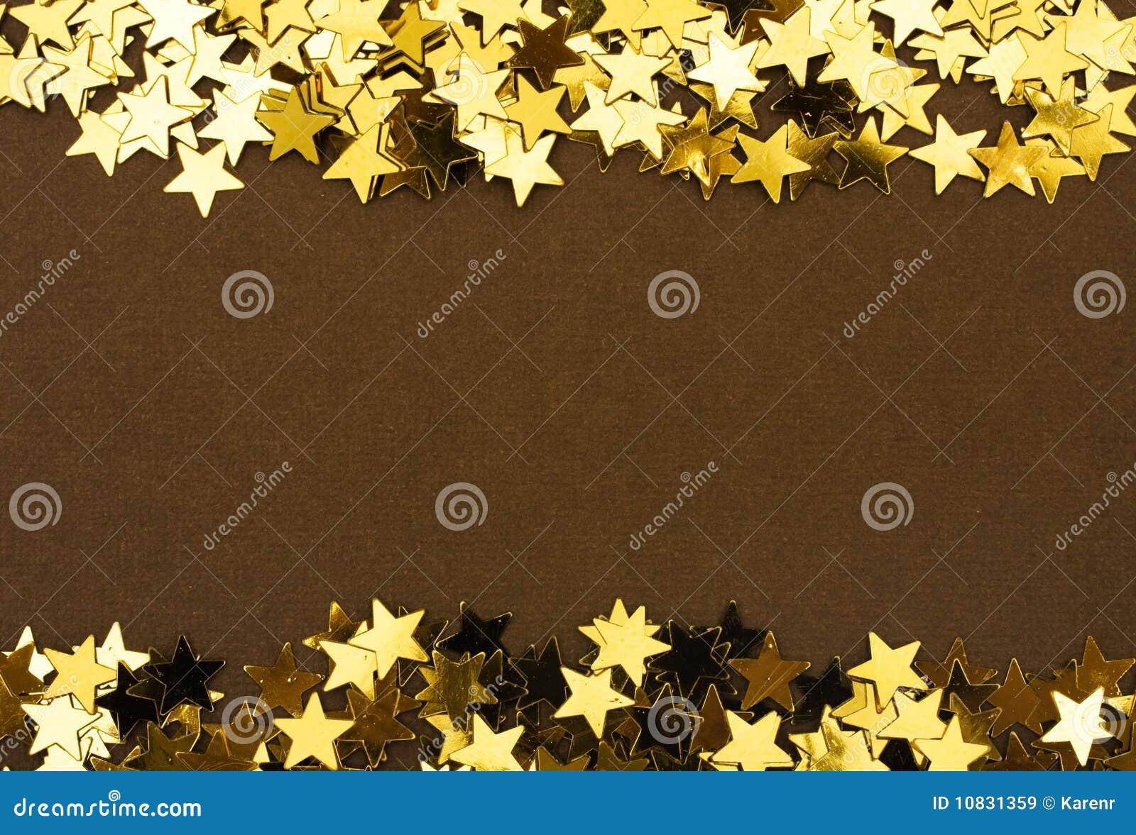 Frontera de la estrella del oro