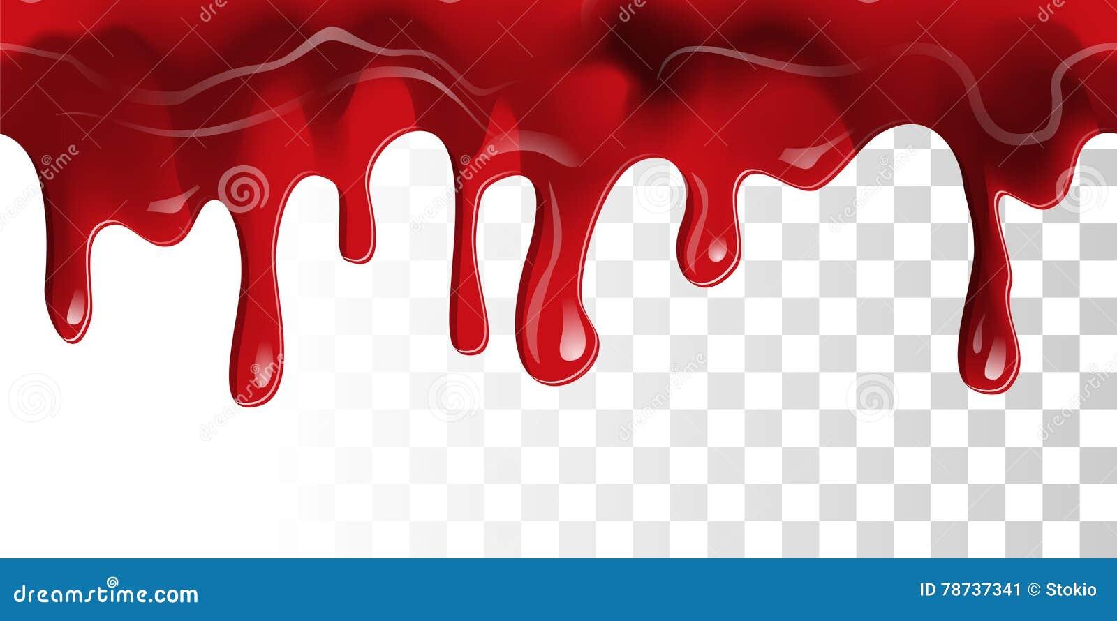 Frontera De La Sangre Que Fluye Ilustración del Vector - Ilustración ...