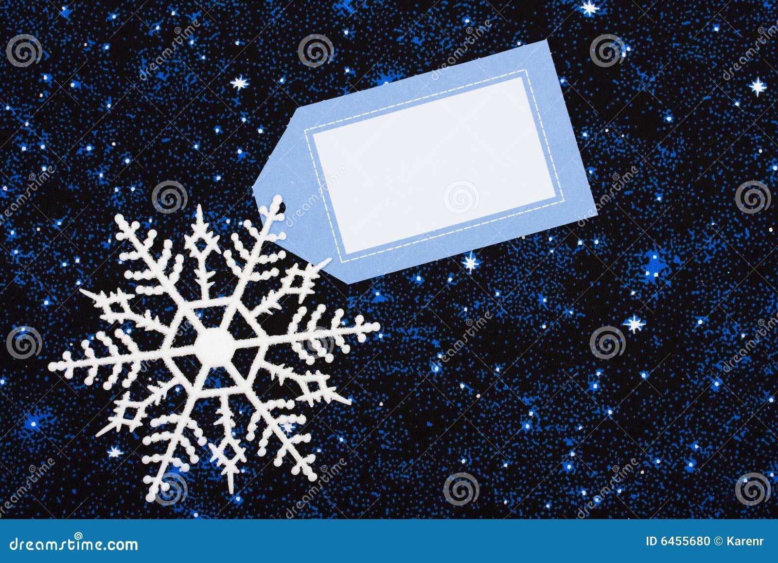 Frontera del copo de nieve