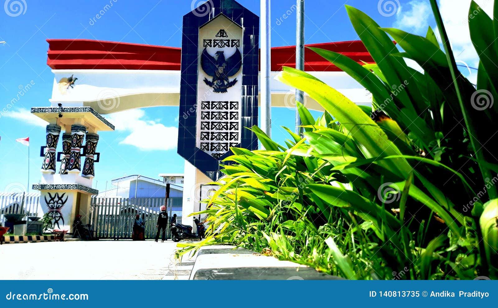 Frontera entre Indonesia y Papúa Nueva Guinea