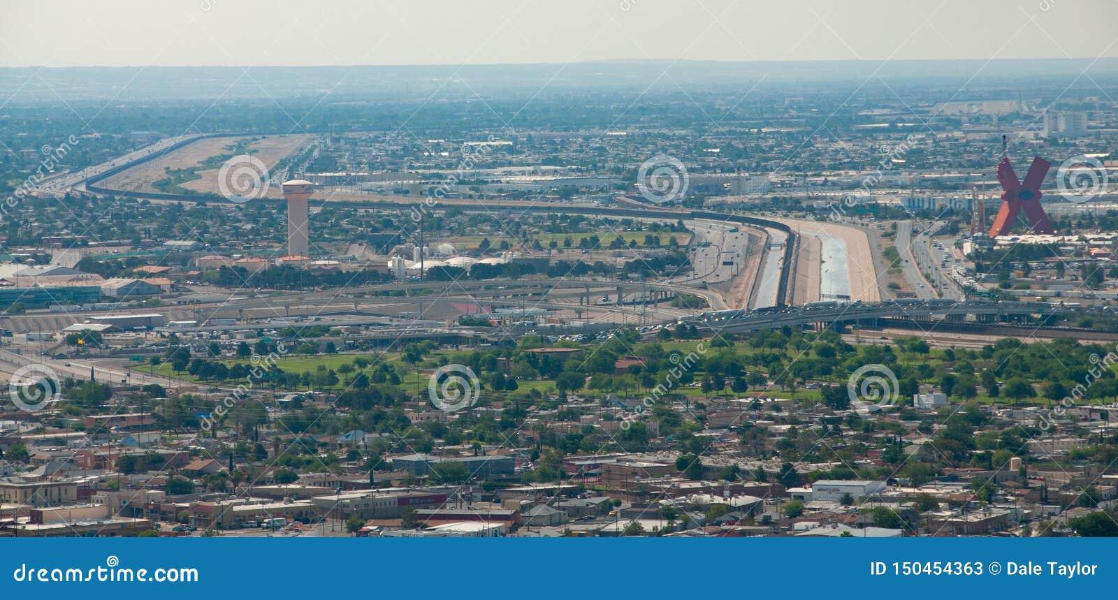 Frontera internacional en El Paso
