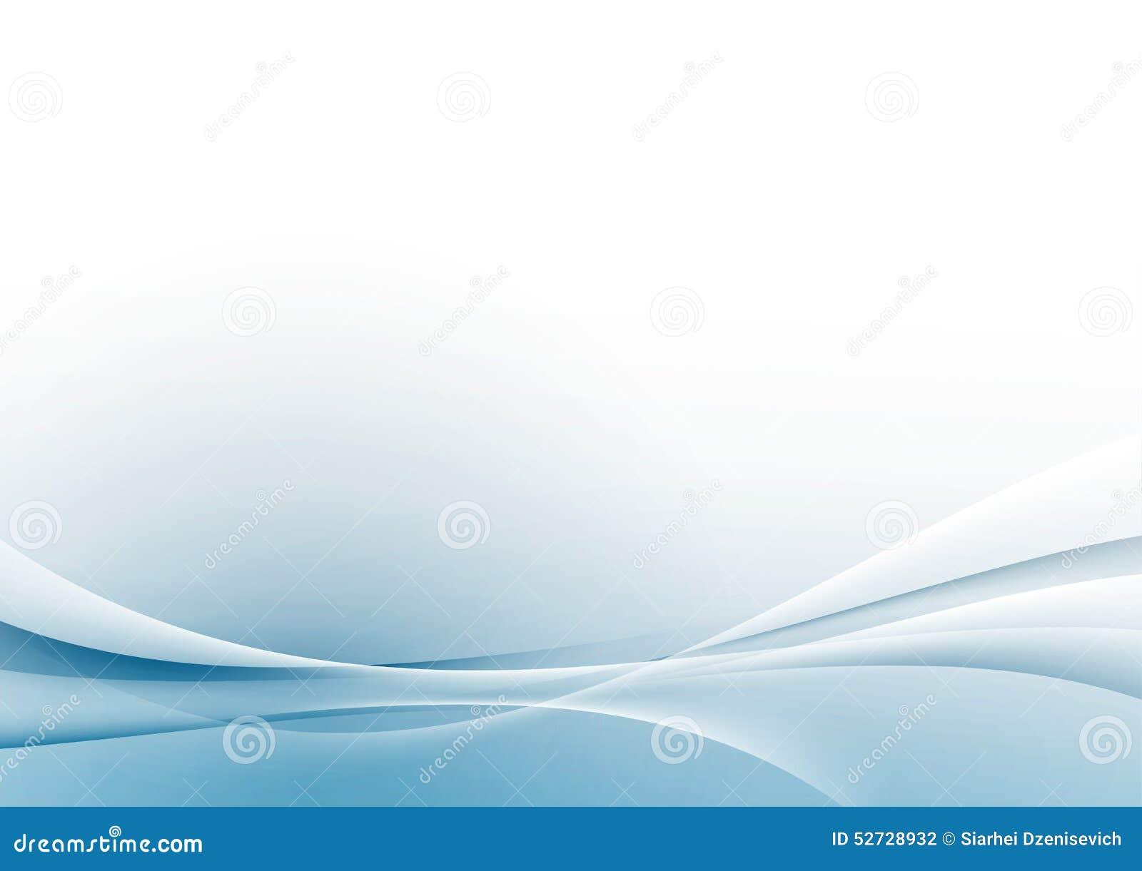 Fronteras blancas modernas abstractas de Swoosh disposición del fondo