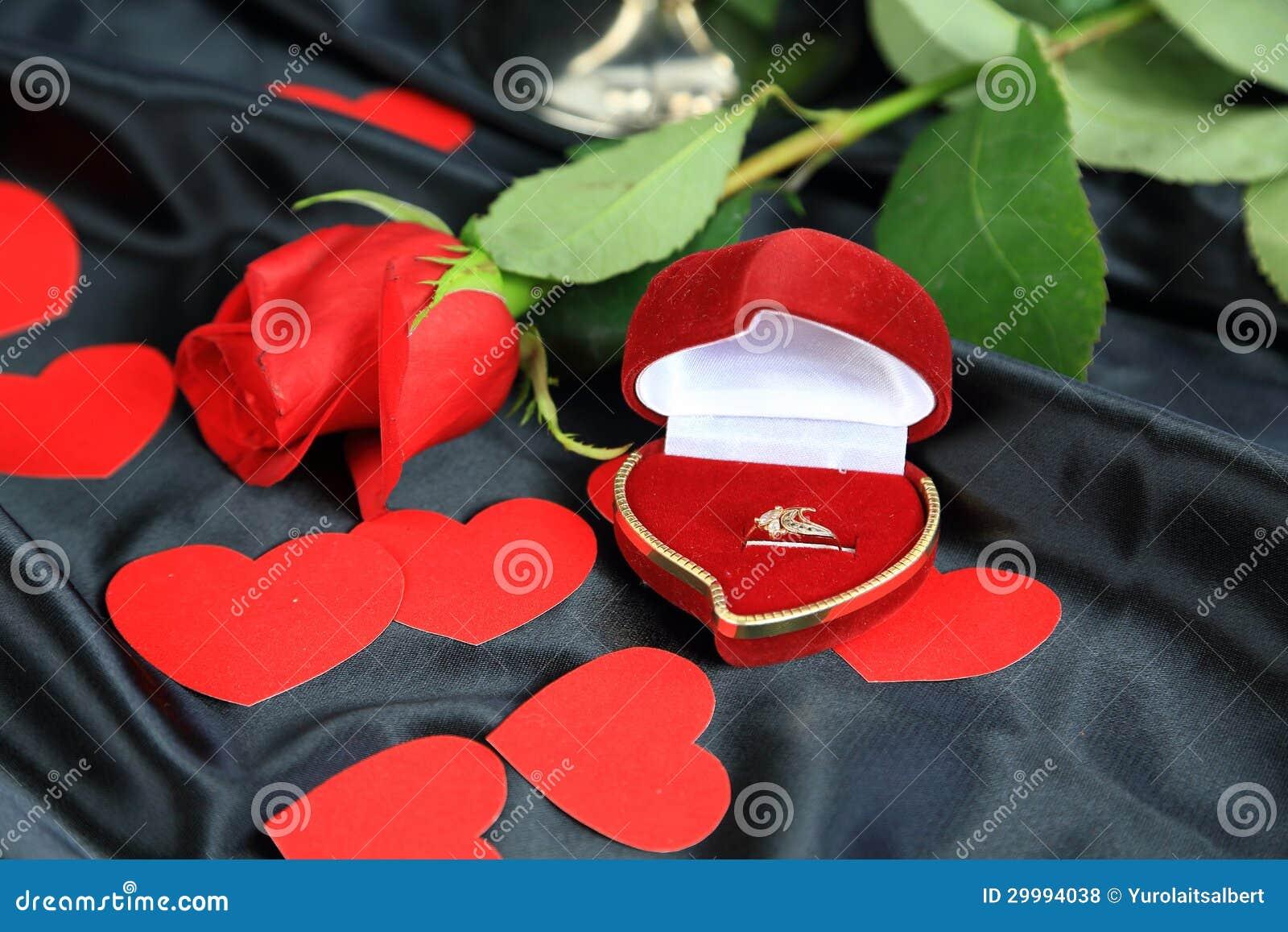 Amour romantique de Saint-Valentin