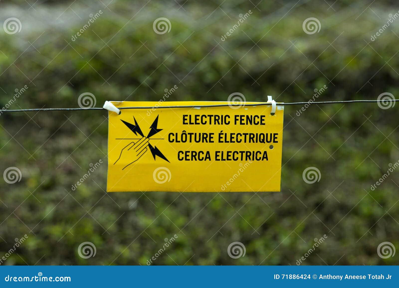 Frontière de sécurité électrique
