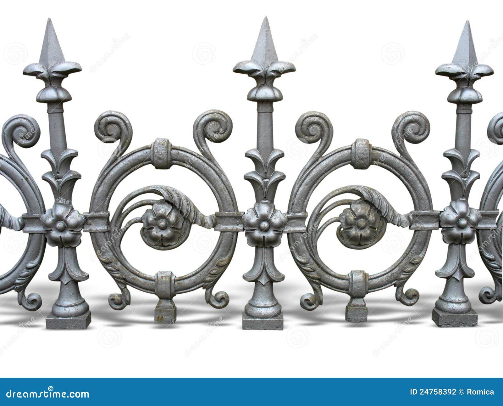 Frontière de sécurité décorative modifiée